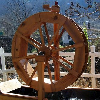 water wheel plans build your own water wheel water wheel place
