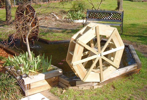 Water wheel pictures for Garden design generator