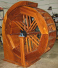 wide 4 1/2' water wheel